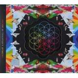 Cd Coldplay   A Head Full Of Dreams  original E Lacrado