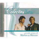 Cd Coleções Grandes Sucessos De  Marlon E Maicon