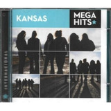 Cd Coletânea  kansas   Mega Hits