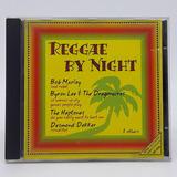 Cd Coletânea Reggae By Night Bob Marley Jimmy Cliff
