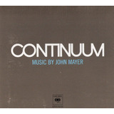 Cd Com Luva Contionuum   Music By John Mayer   Novo