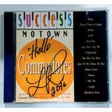 Cd Commodores Autografado Lionel Richie Success Motown 1996
