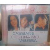 Cd Companheiras De Louvor   Cassiane Cristina Mel Melissa  2