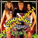 Cd Companhia Do Calypso   Ao Vivo Vol 3