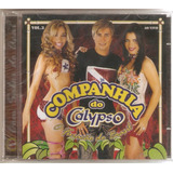 Cd Companhia Do Calypso   Vol 3   Ao Vivo   Novo