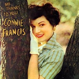 Cd Connie Francis My Thanks To You Connie Francis