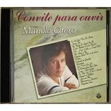 Cd Convite Para Ouvir Manolo Otero 1988 Rge   C4