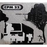 Cd Cpm 22 Cidade Cinza 2007 Musicpac Lacrado 12 Faixas