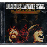 Cd Creedance Clearwater Revival  E John Fogerty Live