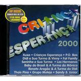 Cd Criança Esperança 2000 Com Baby Do Brasil Xuxa Fat Family