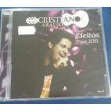 Cd Cristiano Araujo   Efeitos Tour 2001