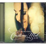 Cd Cristina Mel    Eu Respiro Adoração   Ao Vivo