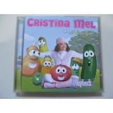 Cd Cristina Mel   E Os Vegetais   Play back   Cd Original