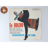 Cd Cuba Orquestra Romãnticos En Bolero   Ganha Capa Nova B2