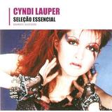 Cd Cyndi Lauper  Seleção Essencial   Grandes Sucessos   Novo
