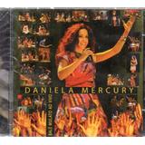 Cd Daniela Mercury Balé Mulato Ao Vivo Original Lacrado