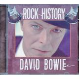 Cd David Bowie   Rock History