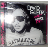 Cd David Guetta   One More Love