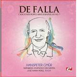 Cd De Falla Seven Canciones Populares Espanolas 7 Polo