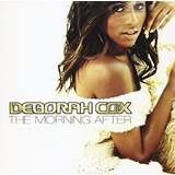 Cd Deborah Cox The Morning After Lacrado Fabrica  Black Funk