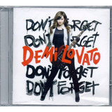 Cd Demi Lovato   Dont Forget
