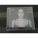Cd Demi Lovato Tell Me You Love Me Novo Lacrado De Fabrica