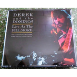 Cd Derek And The Dominos   Live At The Fillmore   Duplo