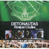 Cd Detonautas Roque Clube   Ao Vivo Rock In Rio   Novo