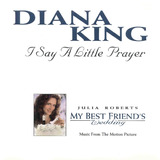 Cd Diana King I Say Little Prayer Single Europeu