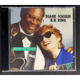 Cd Diane Schuur E B  B  King   Heart To Heart   Seminovo
