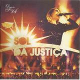 Cd Diante Do Trono  Vol 14 Sol Da Justiça