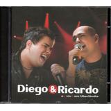 Cd Diego E Ricardo   Ao Vivo Em Uberlândia