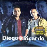 Cd Diego E Ricardo Promocional   Raro