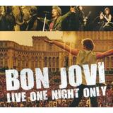 Cd Digipack Bon Jovi Live One Night Only