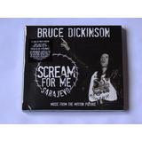 Cd Digipack Bruce Dickinson Scream For Me Sarajevo Importado