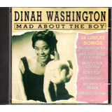 Cd Dinah Washington   Mad About The Boy   18 Great Songs