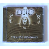 Cd Dio   Strange Highways Legendary Broadcast Live Importado