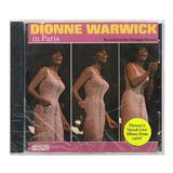 Cd Dionne Warwick In Paris   Importado   Lacrado