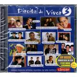Cd Direito De Viver Vol 3 Com Sérgio Reis Bruno E Marrone