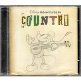 Cd Disney Adventures In Country   Trilha Sonora