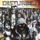 Cd Disturbed   Ten Thousand Fists    Original Lacrado  2005