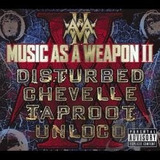Cd Disturbed  music As A Weapon 2 c  Chevelle Taproot Unloco