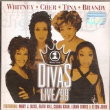 Cd Divas Live 99   The Best   Tina Turner   Novo