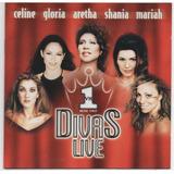 Cd Divas Live Vh1   Celine Dion mariah Carey shania Twain
