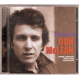 Cd Don Mclean   The Best Of   Novo