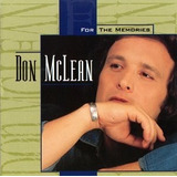 Cd Don Mclean For The Memories  usa