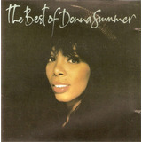 Cd Donna Summer   The Best Of   Semi Novo