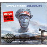 Cd Duplo   1 Dvd Simple Minds   Celebrate   Novo