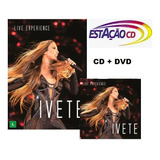 Cd Duplo   Dvd Duplo Ivete Sangalo   Live Experience