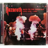 Cd Duplo   Nazareth   Back To The Trenches Live 1972 1984
